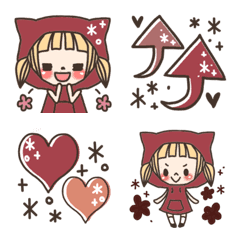 Little Red Riding Hood EmojiLove