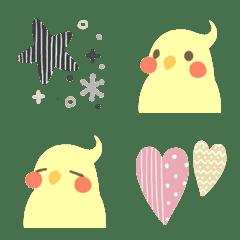 Cookatiel kawaii emoji