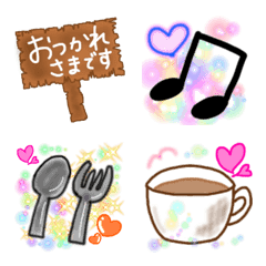 Cute EMOJI You Can Use Every Day! Food