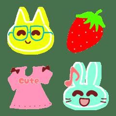 Cute animals Emoji like a c...