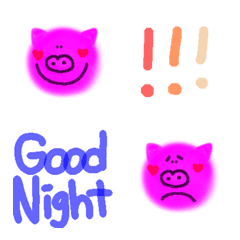 pink pig Japan