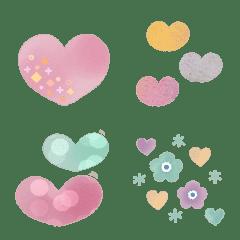 อิโมจิไลน์ Heart filled Emoji3