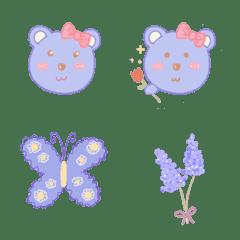 อิโมจิไลน์ Pastel bear no1