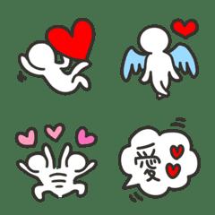 อิโมจิไลน์ Heart and human