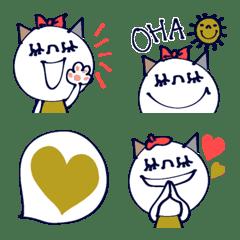 อิโมจิไลน์ Lovely Cat !