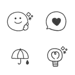 natural line Emoji #2