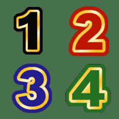 อิโมจิ ตัวเลข สไตล์คลาสสิก