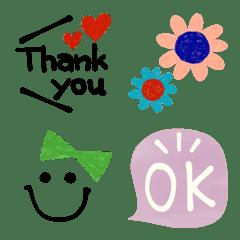 Simple mixed Emoji