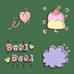A bunch of emoji packing