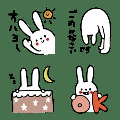 Natural rabbit emoji