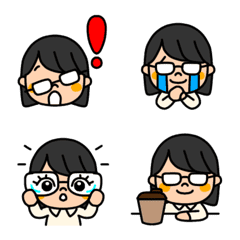 Glasses woman (okappa)