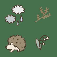 Dull color Emoji set