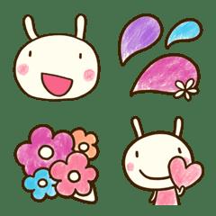 อิโมจิไลน์ Dochi Usa Emoji