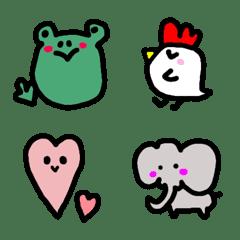 Extra-thick emoji