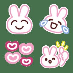 อิโมจิไลน์ กระต่ายดินสอสี