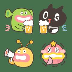 อิโมจิไลน์ Kuroro - Space Explorer's Emoji 2