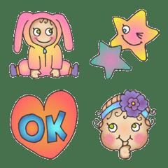 อิโมจิไลน์ Cute Little Baby 01
