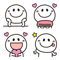 Adult cute very simple Emoji 6