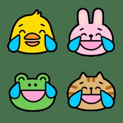Tears of Joy Animals Emoji