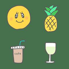 Smiley emoji.