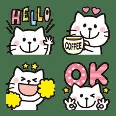 Adult cute Mr.cat emoji 6