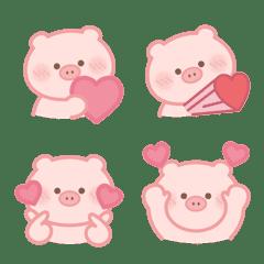 Simple emoji - Cute Pig