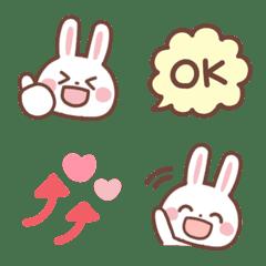 Yuru usagi emoji 2