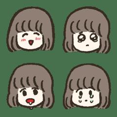 Bob Hair Girl  Emoji