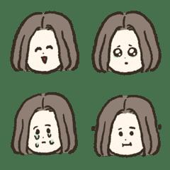 Bob Hair Girl  Emoji2