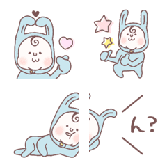 อิโมจิไลน์ aoi usagi riakushon