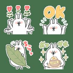 Cute rabbit usapi emoji