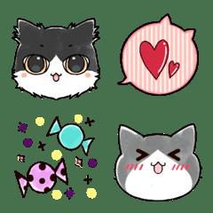 Cat ear balloon Emojis.