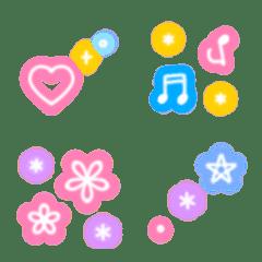 Colorful neon emoji (basic)
