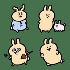 可愛的♡兔子表情符號