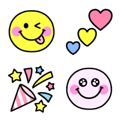 Colorful emoji:)