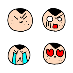 Shaved-kun emoji