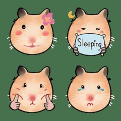 Maru Emoji : Tubby hamster