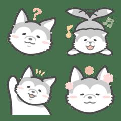 LOVE husky Emoji