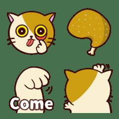 醜貓嗆嗆Q表情貼1