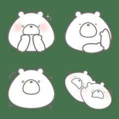 อิโมจิไลน์ Mocchiri polar bear