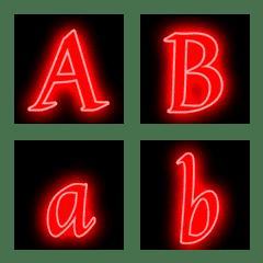 Emoji like a neon sign 6