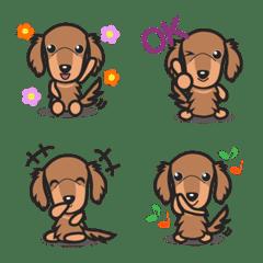 Kawaii Dachshund Emoji