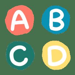 Little English alphabets
