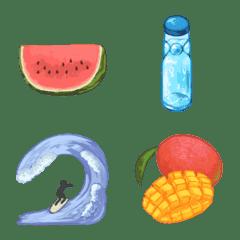 Summer stuff Emoji