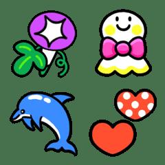 Bright summer color emoji