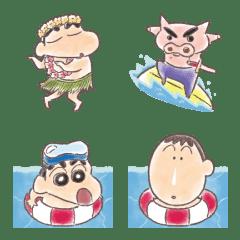 Crayon Shinchan Summer Emoji