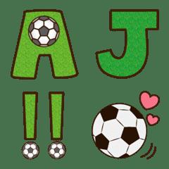อิโมจิไลน์ Soccer alphabet