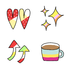Colorful emoji that can be ...