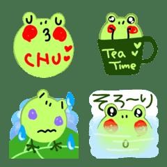 อิโมจิไลน์ Frog 1