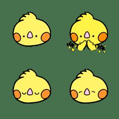 Cockatiel  KONATSU-chan Emoji